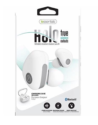 iEssentials Earbud Bluetooth Halo True Wireless
