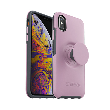 OtterBox iPhone X/XS & Pop Symmetry Mauvelous