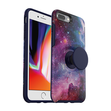 OtterBox iPhone 7+/8+ & Pop Symmetry Blue Nebula