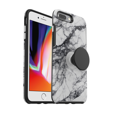 OtterBox iPhone 7+/8+ & Pop Symmetry White Marble