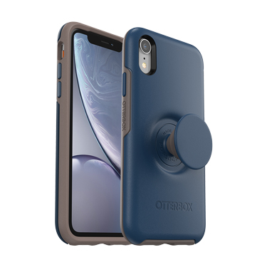 OtterBox iPhone XR & Pop Symmetry Go To Blue