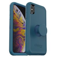 OtterBox iPhone XS Max & Pop Symmetry Go To Blue