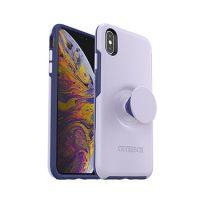 OtterBox iPhone XS Max & Pop Symmetry Lilac Dusk