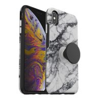 OtterBox iPhone XS Max & Pop Symmetry White Marble
