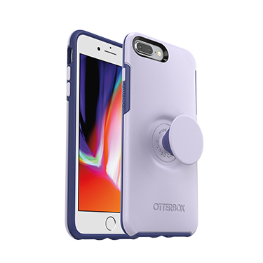 OtterBox iPhone X/XS & Pop Symmetry Lilac Dusk