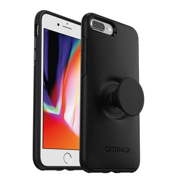 OtterBox iPhone 7+/8+ & Pop Defender Black