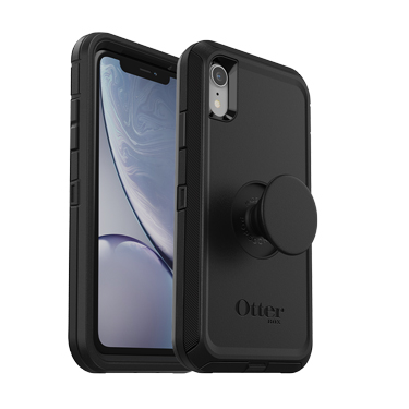 OtterBox iPhone XR & Pop Defender Black