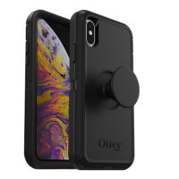 OtterBox iPhone X/XS & Pop Defender Black