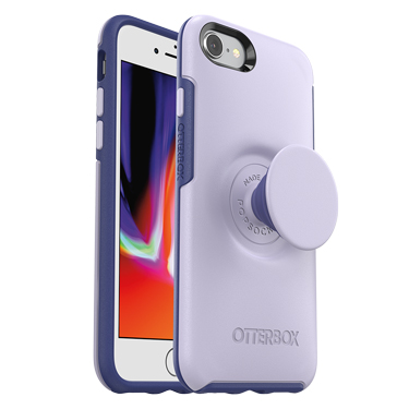 OtterBox iPhone 7/8 & Pop Symmetry Lilac Dusk