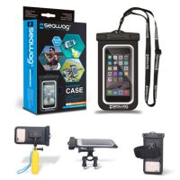 Seawag Waterproof Kit Case/Arm Band/Selfie Stick/Bike Mount