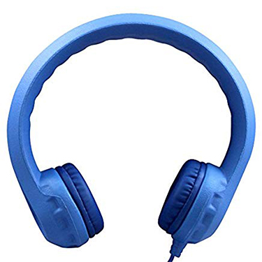 HamiltonBuhl Headphones Flex-Phones Foam Blue