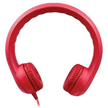 HamiltonBuhl Headphones Flex-Phones Foam Red