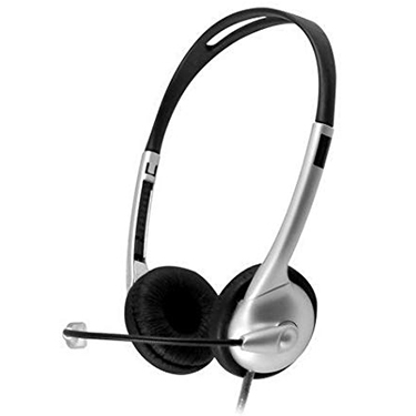 HamiltonBuhl Headset On Ear MACH 1 w/Gneck Mic In-Line Vol