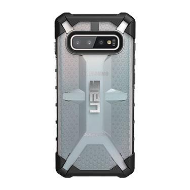 UAG Galaxy S10 Plasma Clear/Black Ice