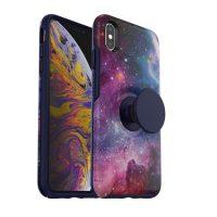 OtterBox iPhone XS Max & Pop Symmetry Blue Nebula