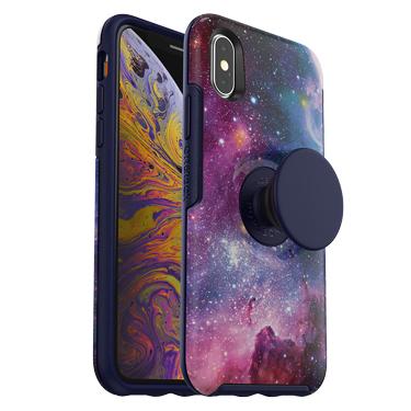 OtterBox iPhone X/XS & Pop Symmetry Blue Nebula