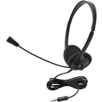 Xtech Headset Stereo w/Mic/Vol Control Black