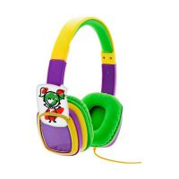 Xtech Headset Smart Art On Ear Vol Limited w/Crayons Yellow