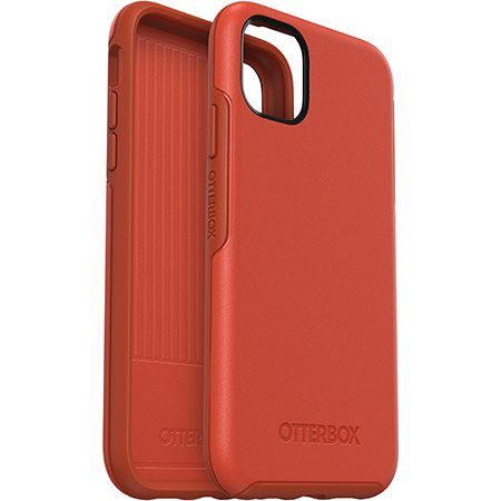 OtterBox iPhone 11 Symmetry Risk Tiger Red