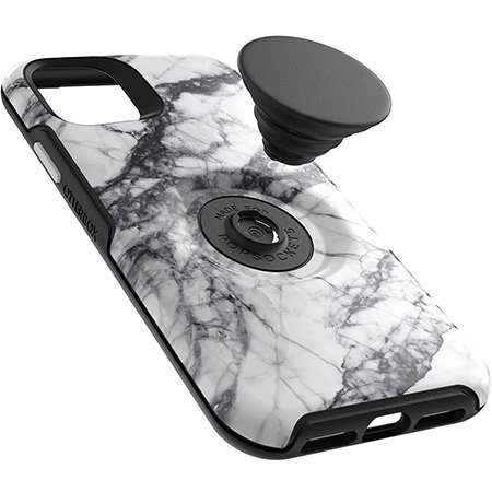 OtterBox iPhone 11 & Pop Symmetry White Marble