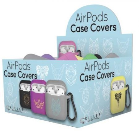 Killer Concepts Airpod Case 18ct Covers For 2Tier Display