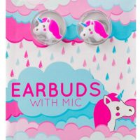 Gabba Goods Earbuds Silicone Unicorn Pink