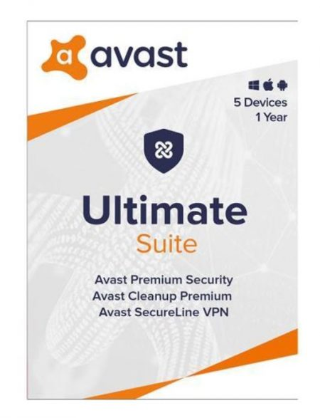 Avast Ultimate  5-User 1Yr PKC