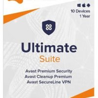 Avast Ultimate 10-User 1Yr PKC