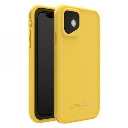 Lifeproof iPhone 11 Fre Case Waterproof Mustard Yellow