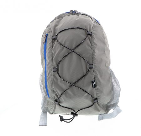 Xtech Backpack Foldable Compact Water Rep Nylon Grey
