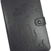 Harley Davidson Universal Bk Tablet Folio 7 to 9In Leather
