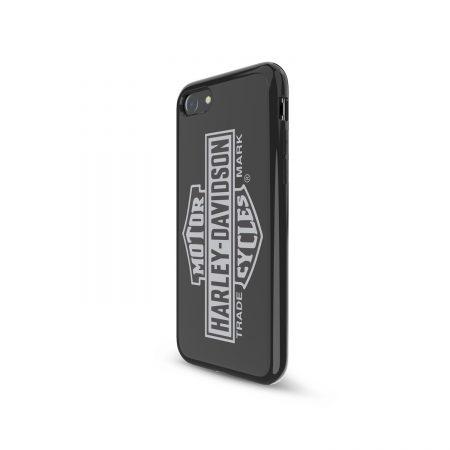 Harley Davidson iPhone 7/8 Bar & Shield Vertical Logo Blk