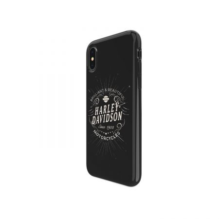 Harley Davidson iPhone X/XS Brilliant & Beautiful Black