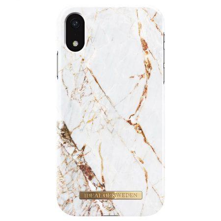 Ideal of Sweden iPhone XR Carrara Gold