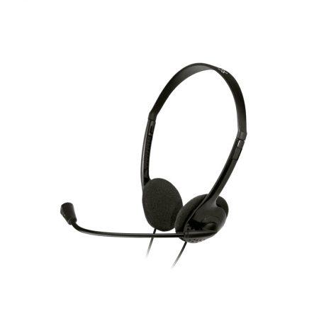Klipxtreme Headset Stereo w/ Vol Cont Boom Mic USB