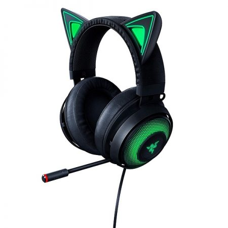 Razer Headset Kraken Green Tournament Edition w/Boom Mic