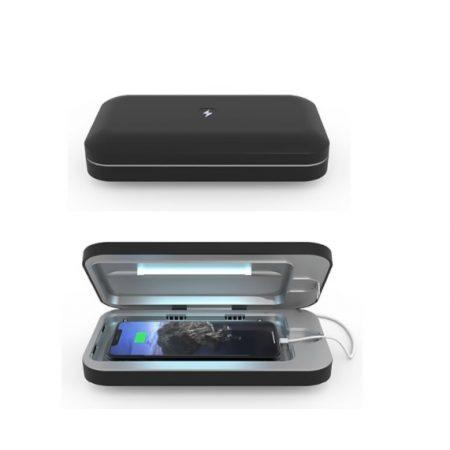 PhoneSoap 3 UV Sanitizer Black Smartphone Black