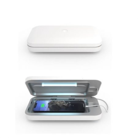 PhoneSoap 3 UV Sanitizer White Smartphone