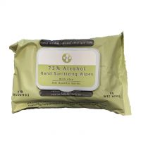 Alcohol Wipes 80 Pack 75% Alcohol HC Approved